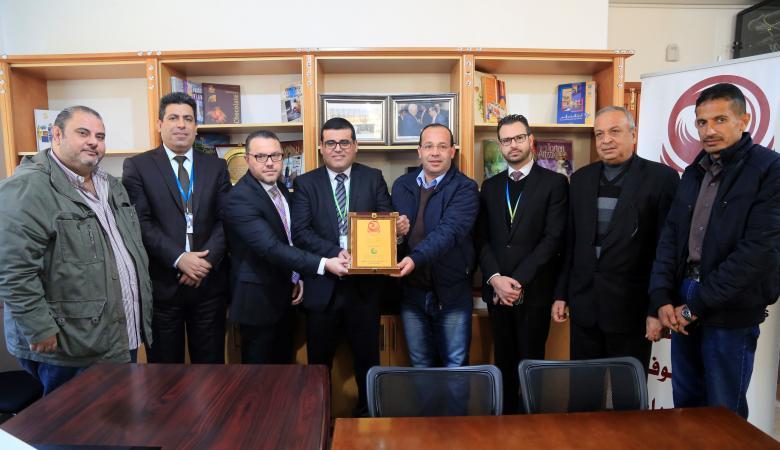مجموعة الاتصالات الفلسطينية تدعم الهيئة الفلسطينية للمطاعم و الفنادق