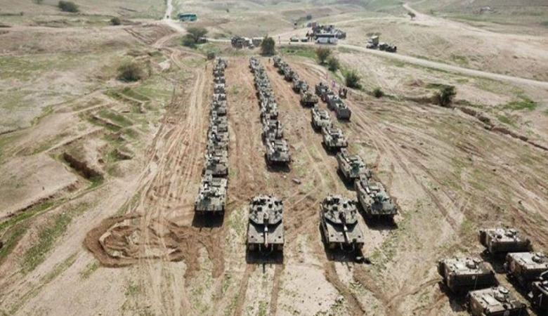 اسرائيل تنفذ اكبر تدريبات عسكرية هي الأضخم من نوعها