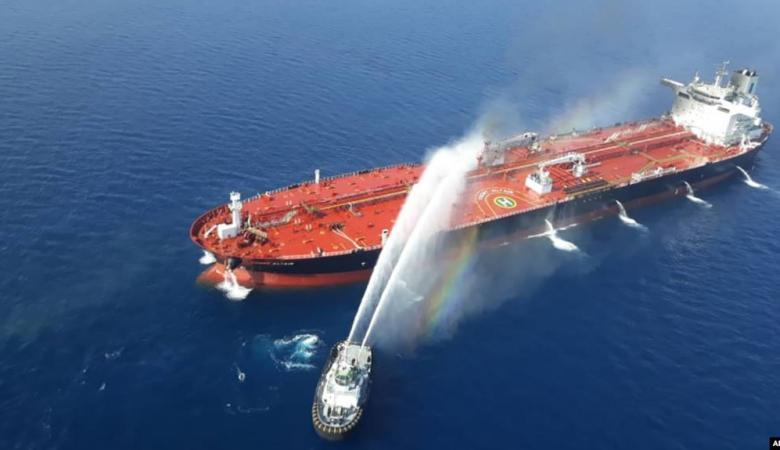البحرية البريطانية: ناقلتنا العملاقة في الخليج آمنة وبخير