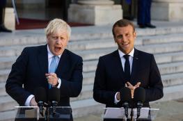 """ماكرون يصف خروج بريطانيا من الاتحاد الاوروبي """"بالصدمة """""""
