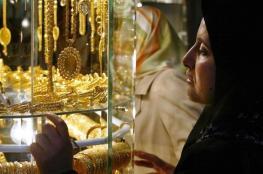 ارتفاع على أسعار الذهب