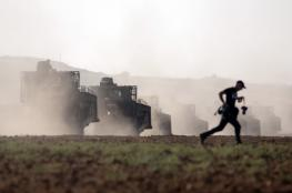جرافات الاحتلال تتوغل في جنوب غزة وتقوم بأعمال تجريف