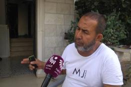 تهمة جديدة يضيفها الاحتلال لوالد الشهيد أشرف نعالوة