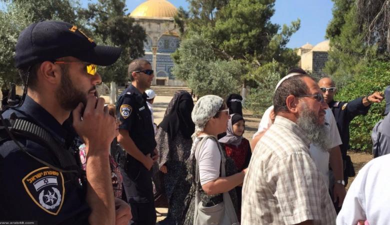 أكثر من 60 مستوطناً اقتحموا المسجد الاقصى المبارك