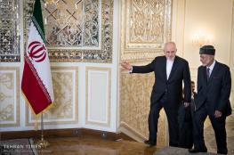 وزير الخارجية العماني يصل طهران للمرة الثانية خلال أسبوعين