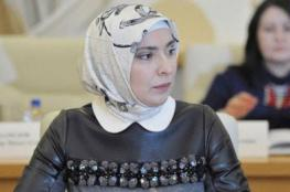 """زوجة مفتي """"داغستان """" تنافس بوتين على رئاسة روسيا"""