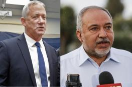 غانتس وليبرمان يتفقان على تشكيل حكومة اسرائيلية