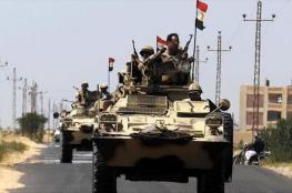 الجيش المصري يعلن إحباط هجوم إرهابي على حاجز أمني بسيناء