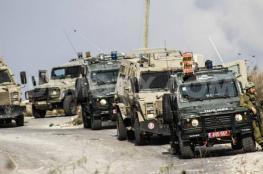 جرافات الاحتلال تهدم كراج سيارات في اللبن الشرقية جنوب نابلس
