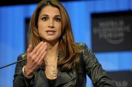 الملكة رانيا : الاردنيون أكدوا ان الاجيال لا تنسى فلسطين