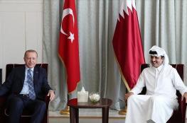 أردوغان يكشف تفاصيل لقائه بأمير قطر