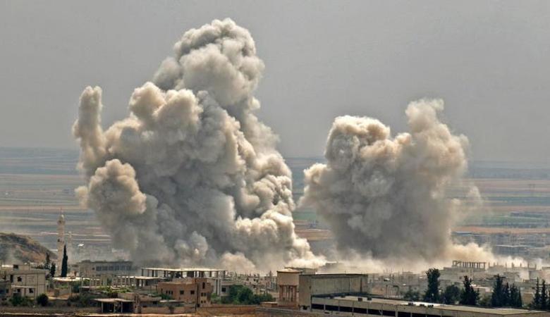 313 قتيلا و382 ألف نازح حصيلة تصعيد النظام وحلفائه شمالي سوريا