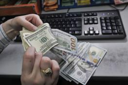 استقرار على صرف الدولار مقابل الشيقل