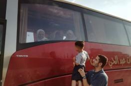 الدفعة الأولى من حجاج الضفة الغربية يغادرون الى الديار الحجازية