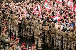 بعد استقالة الحريري..الجيش اللبناني يدعو لفتح الطرق