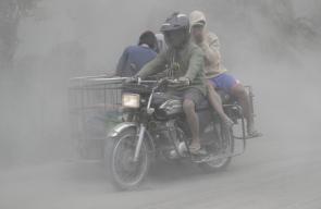 اجلاء آلاف السكان بعد الثوران المفاجئ لبركان
