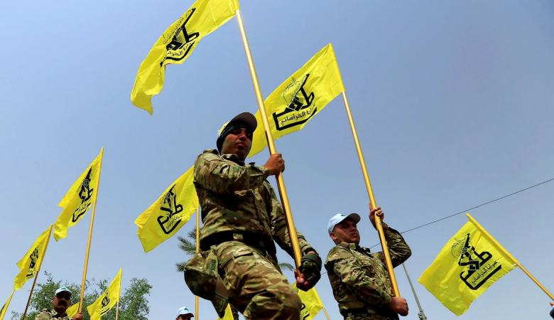 شاهد ..عناصر حزب الله يعتدون على المتظاهرين في لبنان