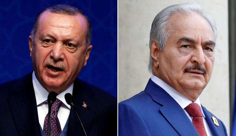 """أردوغان يدعو للوقوف ضد طموحات """"تجار الدم والفوضى"""" في ليبيا"""