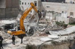 الاحتلال يهدم منزلا بحي الثوري في القدس