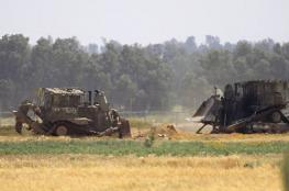جرافات الاحتلال تتوغل جنوب قطاع غزة