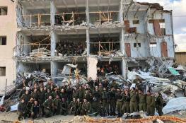 """""""اسرائيل """" تجري مناورات واسعة تحاكي تدمير بنايات سكنية في تل أبيب"""
