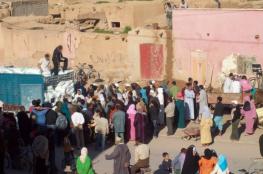 مقتل 15 إمرأة مغربية أثناء تدافع لاستلام مساعدات غذائية في منطقة الصويرة