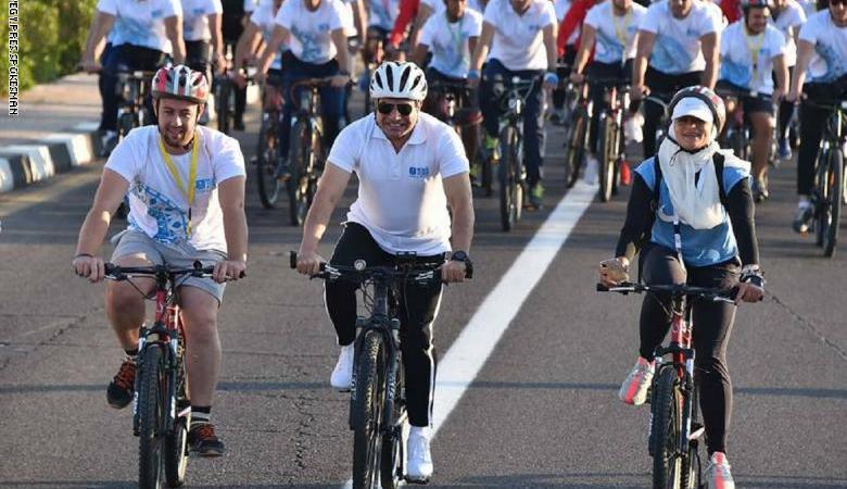 "مصر تطلق مبادرة ""دراجة لكل مواطن"""