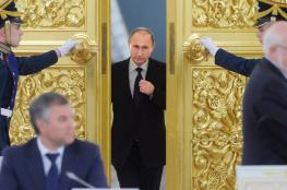 بوتين : نحن في سوريا لتوجيه ضربة حاسمة للارهاب
