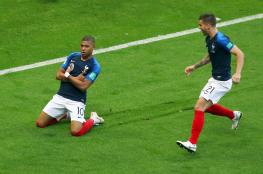 الفرنسي مبابي يسجل رقماً خاصاً في مونديال روسيا