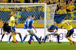 السويد تهزم إيطاليا في ذهاب الملحق الأوروبي المؤهل إلى كأس العالم