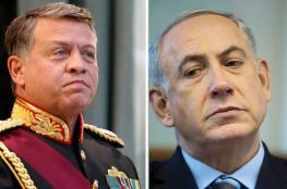 """نتنياهو يعقب على بسط السيطرة على الباقورة : لا صلح حقيقي مع الاردن """""""