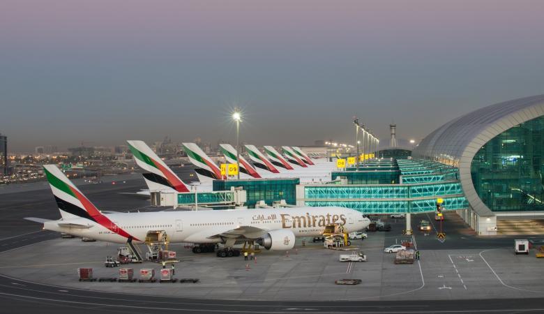 قتيلان في سقوط طائرة بمطار دبي