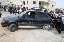 الشرطة تتلف 168 مركبة غير قانونية في الخليل