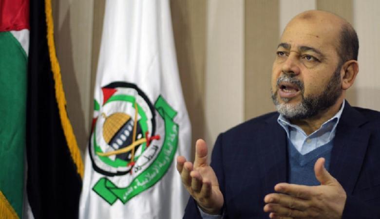 ابو مرزوق : ردنا ايجابي على رسالة الرئيس بشأن المصالحة