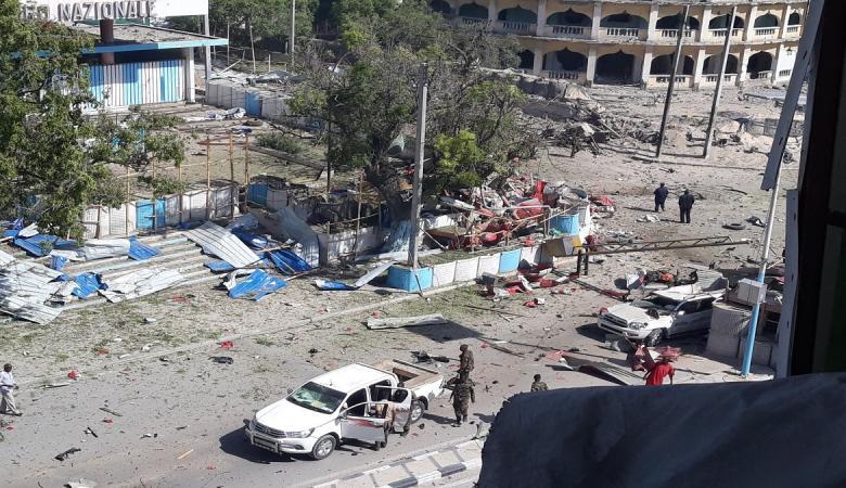 انفجار سيارة مفخخة في محيط القصر الرئاسي في الصومال