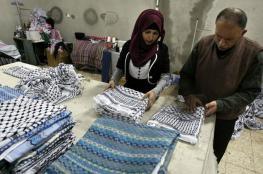الاردن والامارات أكثر الدول التي استوردت بضائع من فلسطين
