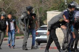 قوات  الاحتلال  تعتقل شابين من العيسوية فجر اليوم