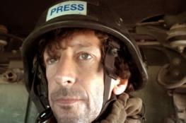 صحفي إسرائيلي يغطي عمليات الجيش العراقي بالموصل