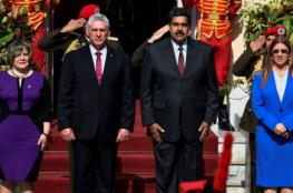 الرئيس الكوبي يشدد على الوحدة بين كوبا وفنزويلا