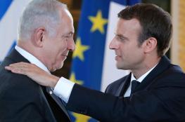 الرئيس الفرنسي : قرارات ضد من ينكر حق اسرائيل في الوجود
