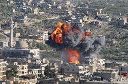مقتل 12 مدنيا في قصف للنظام وحلفاؤه على ادلب السورية