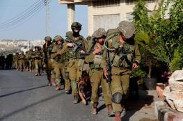 اطلاق نار وتحركات مكثفة ..الاحتلال يبدأ مناورة عسكرية في الخليل