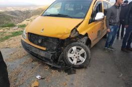 خمس اصابات في حادث سير غرب الخليل