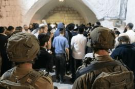 1400 مستوطن اقتحموا نابلس فجر اليوم