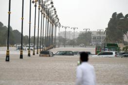 عاصفة واعصار يقتربان من السعودية