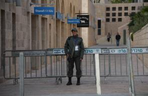 اجراءات عسكرية مشددة في القدس لتأمين زيارة نائب الرئيس الامريكي