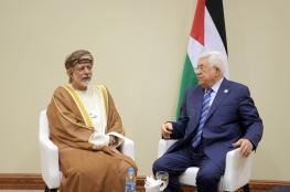 الرئيس يلتقي وزير الشؤون الخارجية العماني
