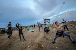 14 اصابة في غزة خلال قمع الاحتلال لمسيرات العودة