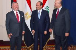 مصر والاردن والعراق : قضية فلسطين هي قضية العرب الاولى