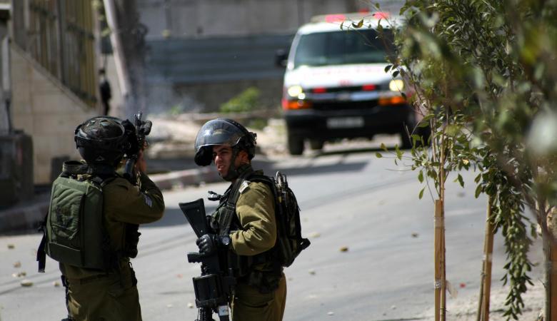 اصابات في مواجهات مع الاحتلال شمال شرق الخليل